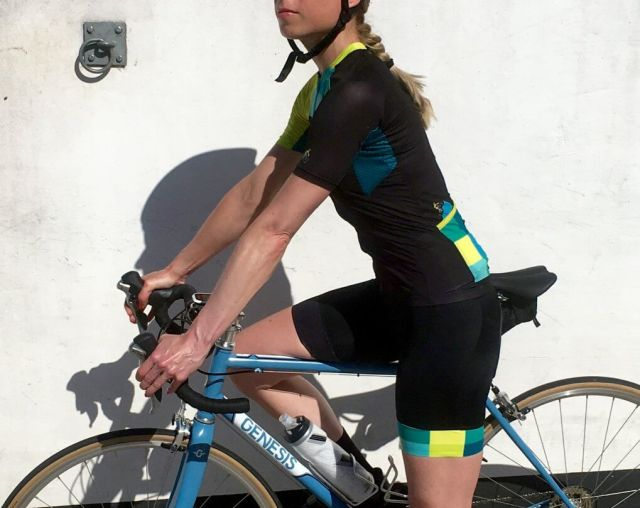 SPORTables cycling Kit blauw
