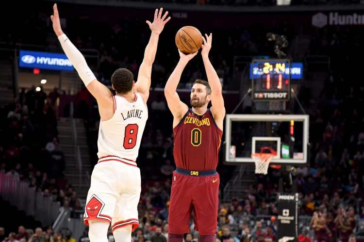 Kevin Love highlights NBA difference in 'The Last Dance ...