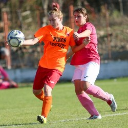Pas important spre promovare: Banat Girls - Piroș Security 0-6