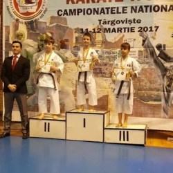 """Șase medalii karateka Bazai și un loc 15 pe echipe la """"naționalele"""" FRK WUKF"""