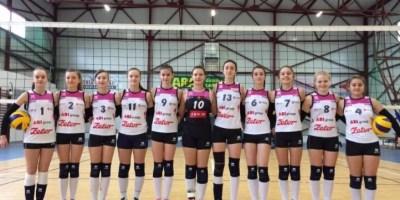 Voleibalistele Nădlacului – în semifinale la cadete!