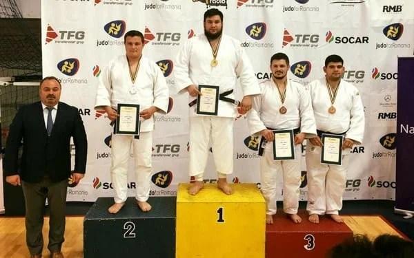 Kabat, D. Mraz și R. Nagy, medaliații Aradului la Cupa României de judo