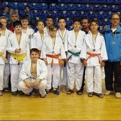 "Șase medalii arădene la ""naționalele"" Under 14 la judo"