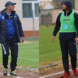 """Antrenorii comentează derby-ul Criș - Lipova 0-2. Roșca: """"Dubla eliminare i-a avantajat pe ei"""" v.s. Sabău: """"Muncim demult, nimic nu e întâmplător"""""""