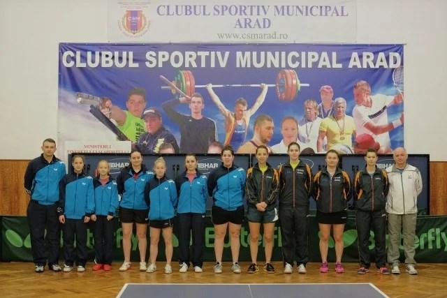 """Samara i-a furat """"bronzul"""" CSM-ului! Arădencele termină Superliga de Tenis de masă în afara podiumului"""