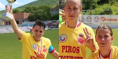 """Liheț – Bălaș – Olariu, tripleta de 62 de goluri a """"leoaicelor"""": """"Promovarea ne obligă la un an măcar la fel de bun"""""""