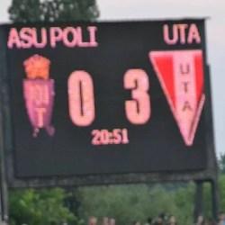 UTA învingătoare în derbyul vestului: ASU Poli - UTA, 0 - 3
