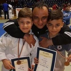 """Rus și Găman, vicecampioni naționali la """"naționalele"""" de judo rezervate copiilor"""