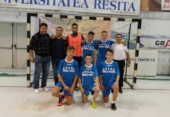 Șimandul a defilat cu Reșița pentru încă trei puncte în campionatul național Under 19 la futsal