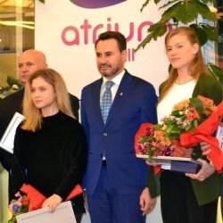 Halterofilul Dumitru Captari e sportivul anului 2017 în Arad, Bocșer și Dodean completează podiumul! Vezi ce alte premii s-au mai dat la Gala de la mall