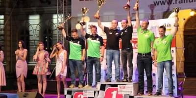 Vali Porcișteanu a câștigat Raliul Aradului KIA 2018, profitând de accidentul lui Tempestini în Super Specială