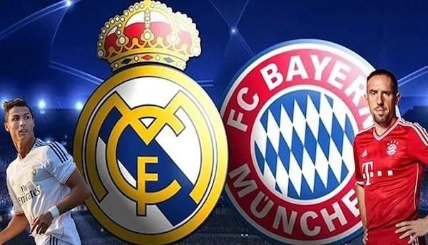 Ponturi pariuri Real Madrid - Bayern Munchen