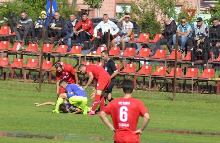 """Stamate și Bătrân susțin că Zăbrani - Sântana nu trebuia să înceapă: """"A fost țurcă, nu fotbal, din păcate cei de la AJF au decis să se joace!"""" Stanciu a fost externat!"""
