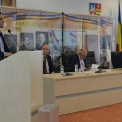 Sub privirile lui Burleanu, Adi Lucaci a luat oficial un nou mandat de președinte al AJF Arad, Mako și Coman rămân vicepreședinți!