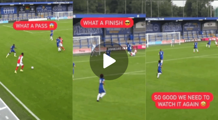 Balogun And Biereth Linkup To Deliver Amazing Goal Against Chelsea