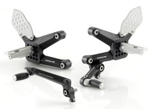 Rizoma REV Rearsets for Ducati 848/1098/1198