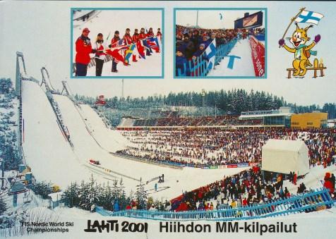 Karte 2 WM 2001