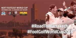 Footgolf: 3e Coupe du monde Maroc 2018 @ Al MaadenGolf Resort, Marrakech, Maroc