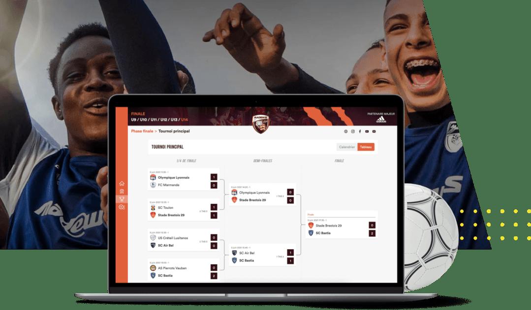 Application gestion de tournoi Madewis