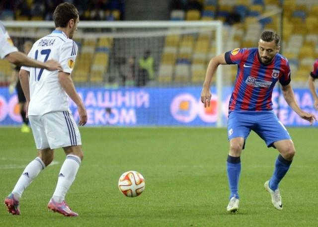 Lucian Sanmartean in Steaua - Dynamo Kiev