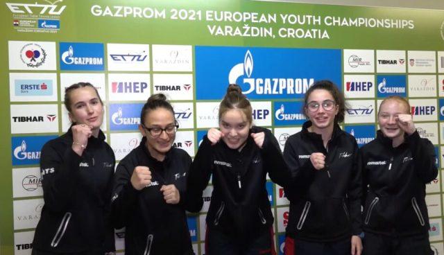 echipa feminina