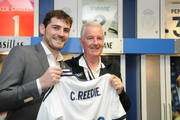 Iker Casillas et Craig Reedie - Madrid 2020