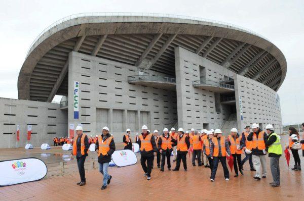 Visite Stade Olympique - Madrid 2020