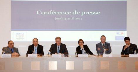 Conférence de presse - CFSI 2013