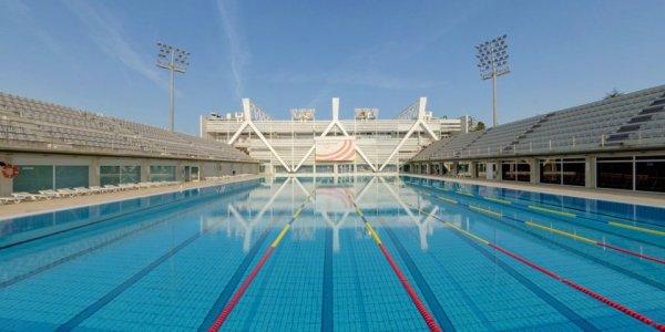 Vue du bassin du Centre Aquatique Bernat Picornell de Barcelone (Crédits - Page officielle Facebook)