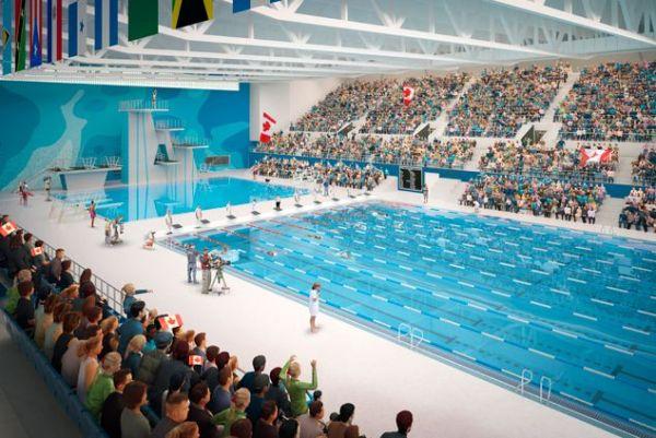Centre Aquatique des Jeux Panaméricains 2015 - Toronto