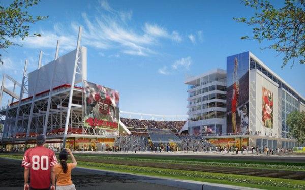 Levi's Stadium - vue extérieure