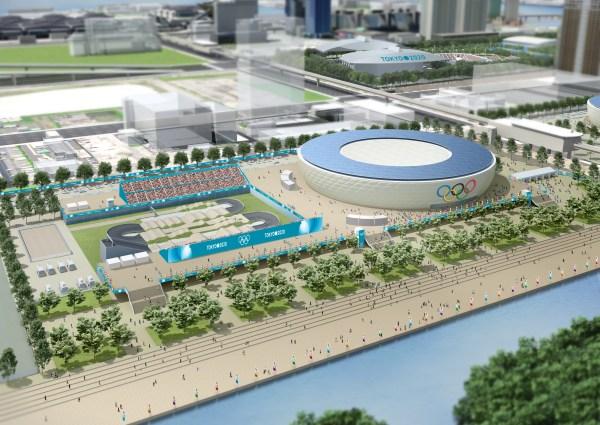 10 - Vélodrome Olympique - Parcours de BMX