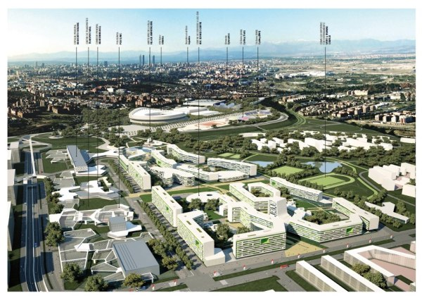 Parc Olympique de Madrid 2020