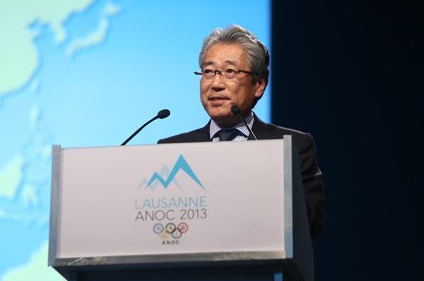 Tokyo 2020 - ACNO 2013 - Tsunekazu Takeda