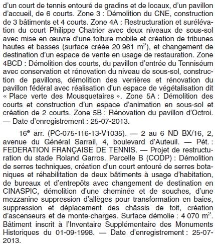 Bulletin Municipal - Paris - 13 août 2013 - 2epartie