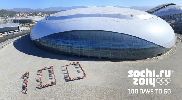 100 jours - Sotchi 2014