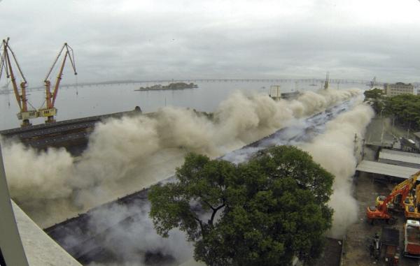Port de Rio de Janeiro - travaux novembre 2013