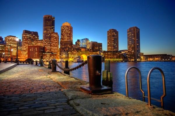 Boston - vue nocturne