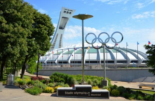 Stade Olympique de Montréal - vue extérieure