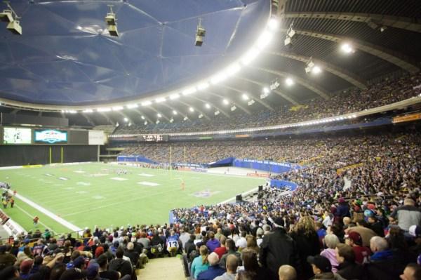 Stade Olympique de Montréal - vue intérieure