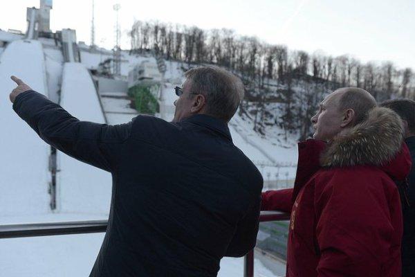 Vladimir Poutine et German Gref