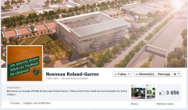 Facebook - Roland Garros