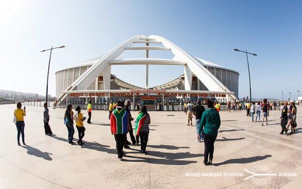 Moses Mabhida Stadium - Durban 2024 - vue extérieure