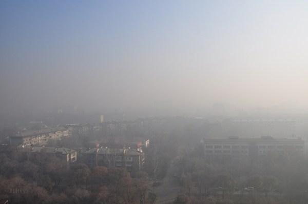 Almaty - pollution au smog