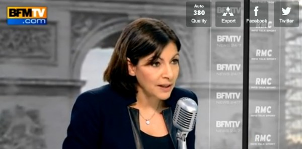 Anne Hidalgo - RMC - BFMTV