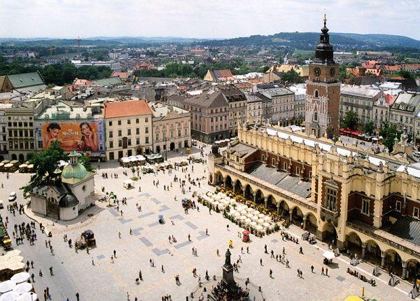 Centre ville de Cracovie - Pologne