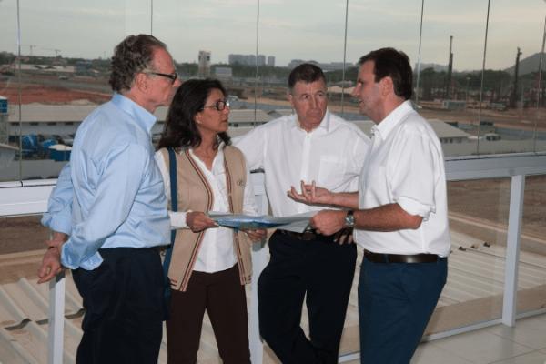 Commission de Coordination Rio 2016 - mars 2013 - Parc Olympique de Barra