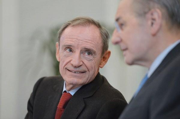Jean-Claude Killy et Jacques Rogge - 2013