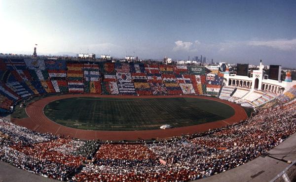 Memorial Coliseum - Los Angeles 1984