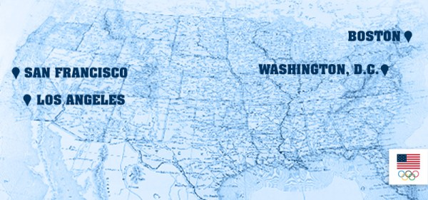 USOC 2024 - carte des villes